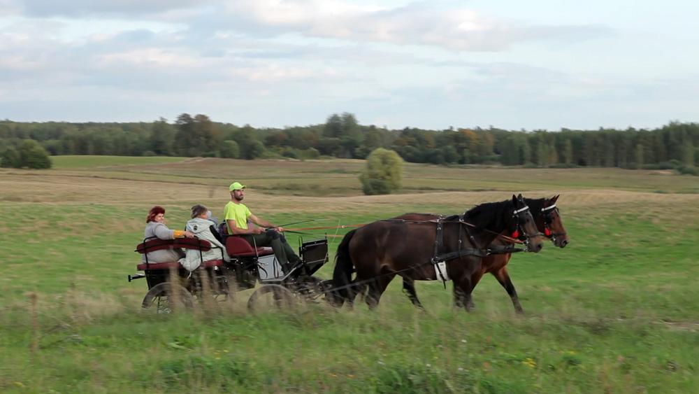 Krāslavā atpūtu pie dabas var baudīt braucienā ar zirgu