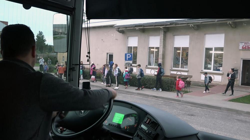 Drošība skolēnu autobusos Covid-19 laikā