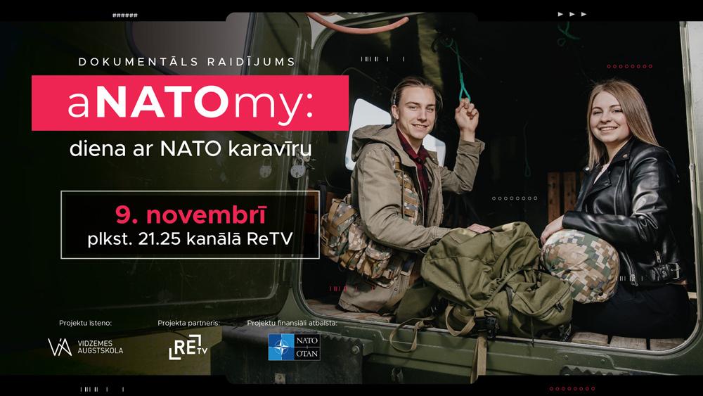 aNATOmy: diena ar NATO karavīru