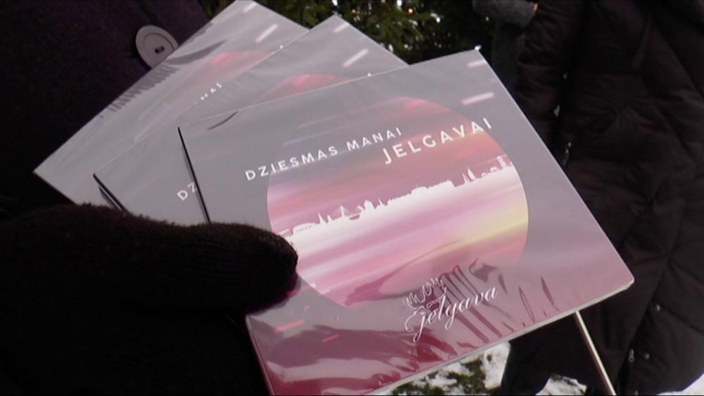 "Izveidots albums ""Dziesmas manai Jelgavai"""
