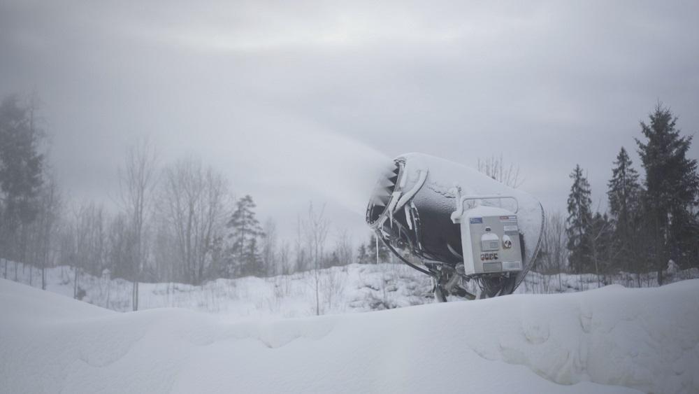 Madonā deponē sniegu nākamajai sezonai