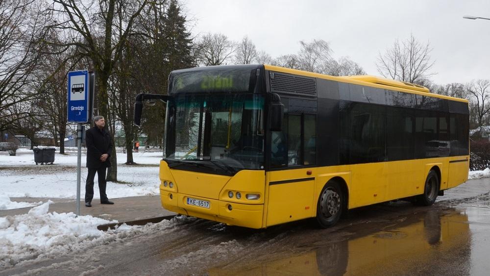 Konkursā par pasažieru pārvadājumiem Jēkabpils apkārtnē uzvar uzņēmums no Tukuma