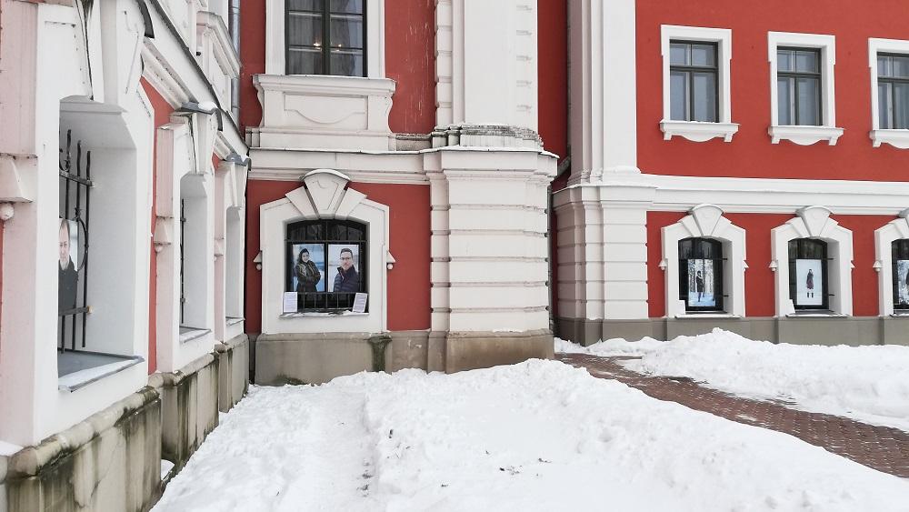 Jelgavā atklāta  brīvdabas fotogrāfiju izstāde ''Ziemas stāsti''