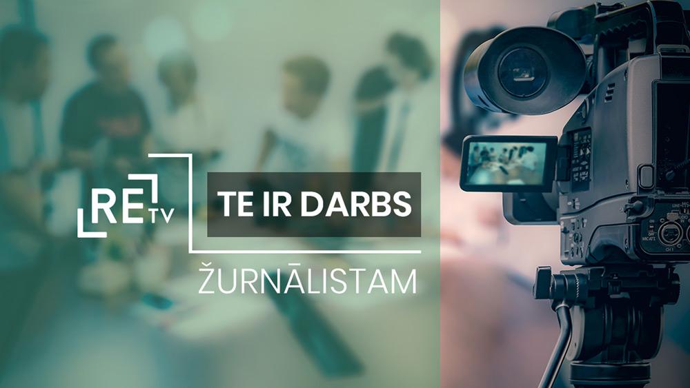 ReTV Ziņu dienests aicina darbā žurnālistu