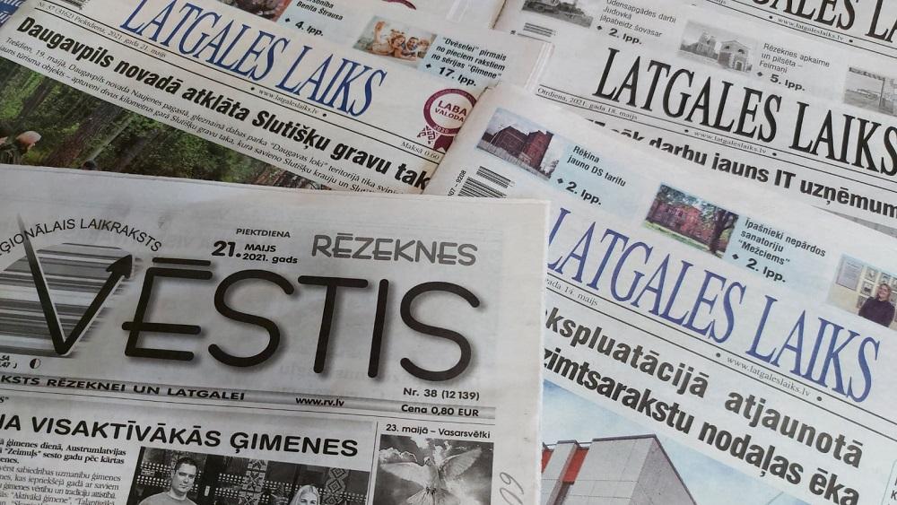 Latgalē pašvaldības pārdod sev piederošās mediju kapitāldaļas