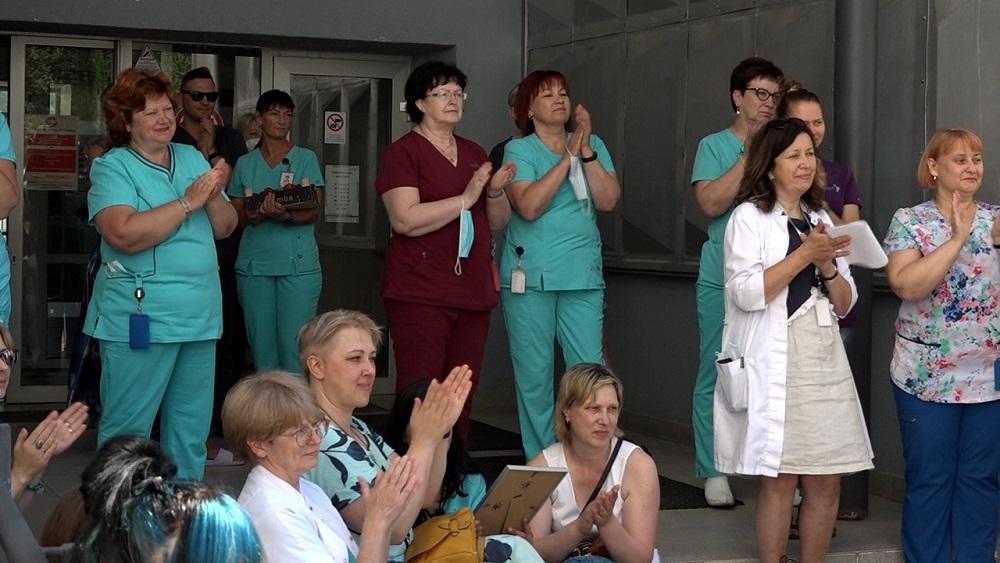 Sveic Medicīnas darbinieku dienā