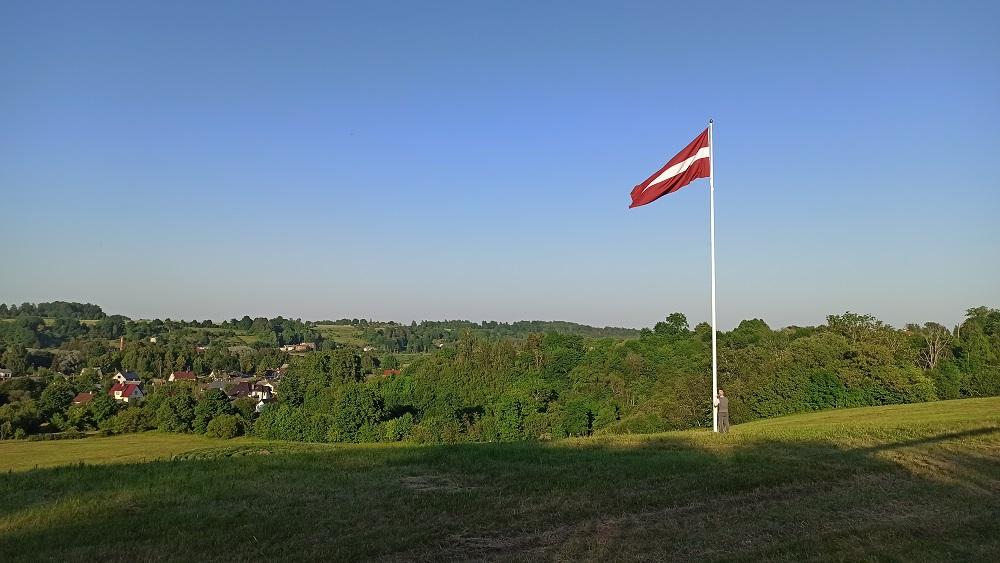 Atzīmēta Latvijas karoga simtgade