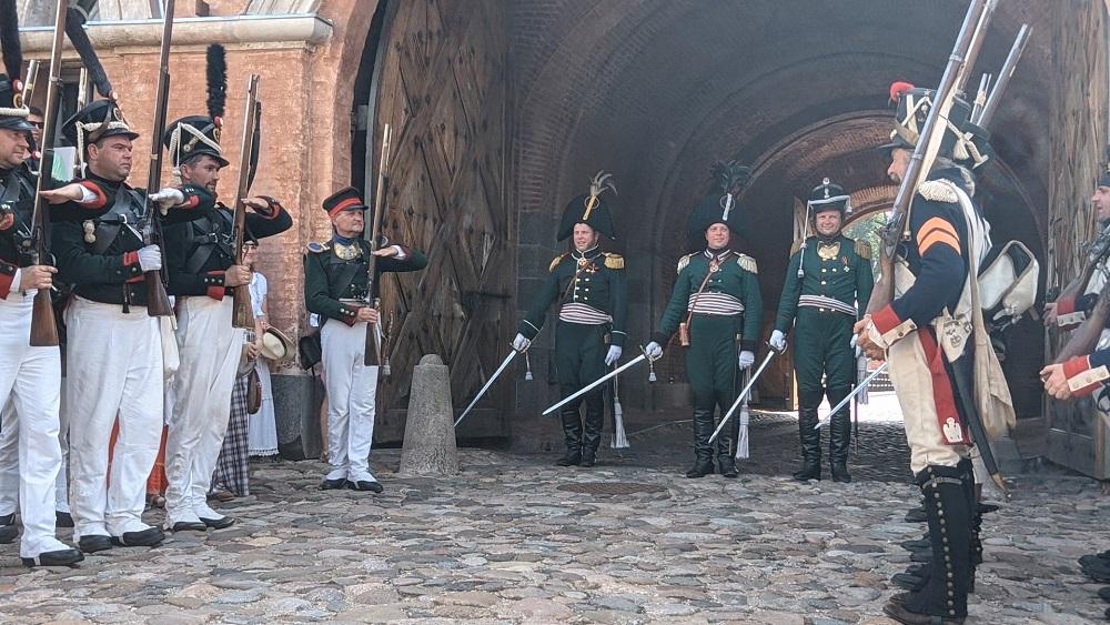 Daugavpils cietoksnī - kaujas kristību gadadiena