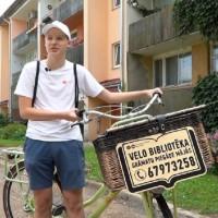Siguldā darbojas grāmatu velosipēds