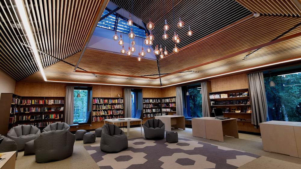 Ogres bibliotēka – lielākā koka konstrukciju pasīvā ēka Latvijā