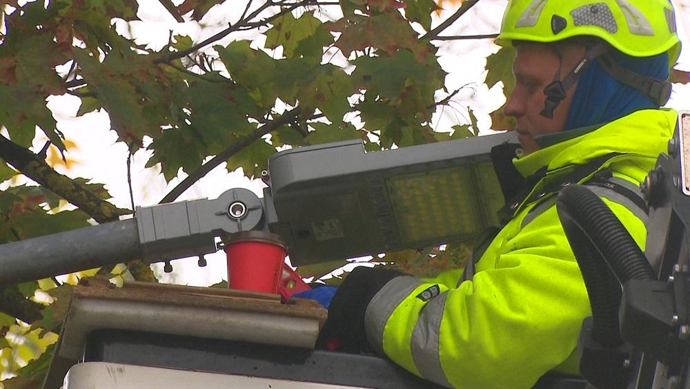 Īsteno Latvijā apjomīgāko ielu apgaismojuma projektu