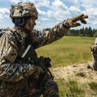 """Aizvadītas militārās mācības """"Namejs 2021"""" Vidzemē"""