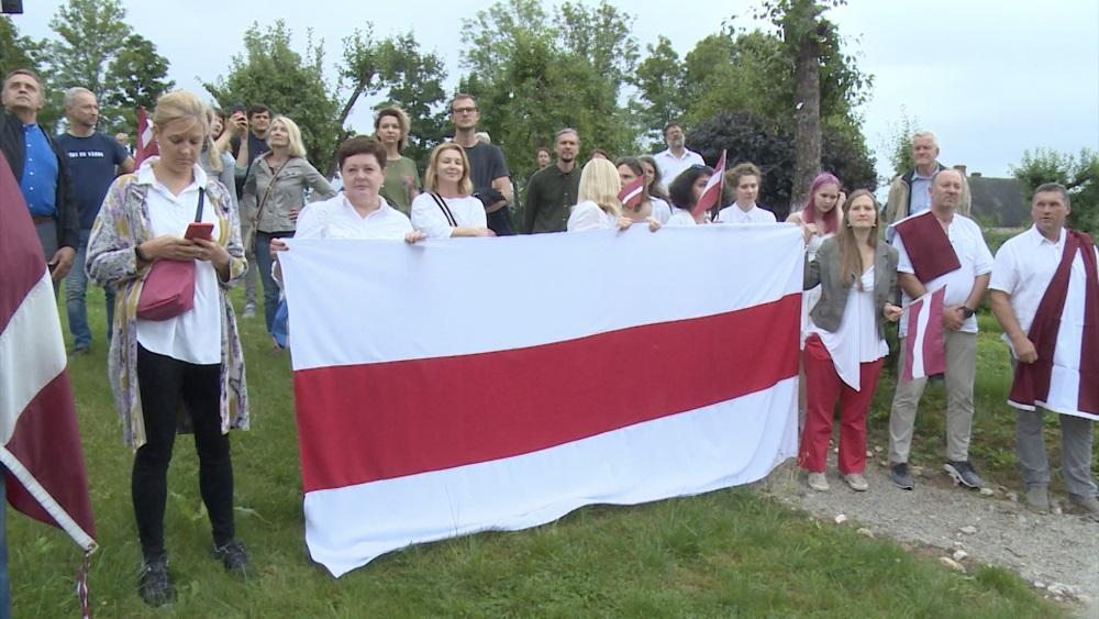 """Vienojas akcijā """"Baltijas ceļš. Brīvību Baltkrievijai"""""""